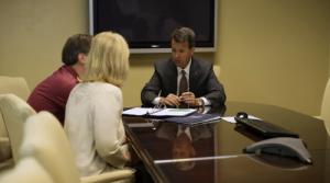Dan Gensler with clients 2013