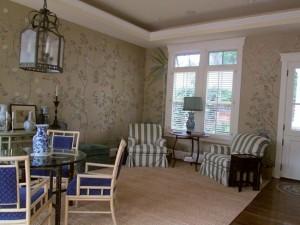 Chnoiserie wallpaper by Caroline Murray gregoire  aug 13 010