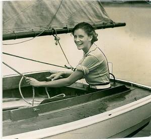 Yachting photo - early 1930 Miss Elizabeth Muttlebury