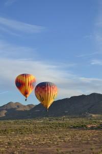 hot air balloon phoenix az