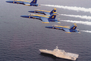 uss coronado blue angels