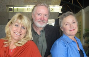 Producing Artistic Director Robert Smyth and Associate Producing Artistic Directors Deborah Smyth and Kerry Meads (left).