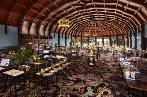 Lunch has been served in the Crown Room at the Hotel del Coronado for over a century.