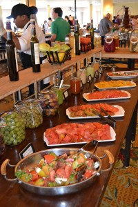 Heirloom tomato bar