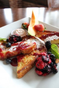 Leroy's Kitchen + Lounge's Berry Brioche  French Toast.  Photo by Denise Jones