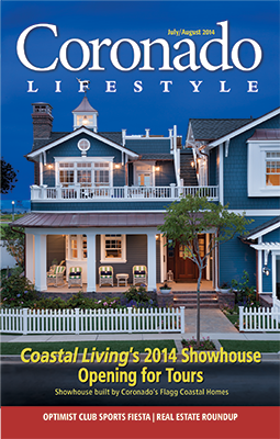 Coronado Lifestyle Magazine July August Cover
