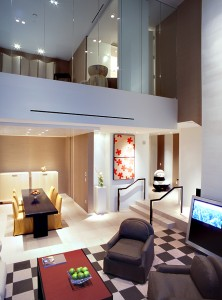 All Skylofts at the MGM Grand are two-story accommodations with one to three bedrooms.