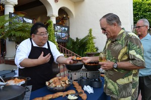 Adam Cho, chef de cuisine, Mistral, Loews Coronado Bay Resort
