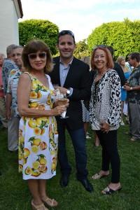 Anna Paul, Dino and Cheryl Morabito
