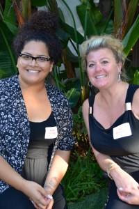 Kelly Paopao and Liz Broznan of Christie's Place