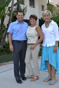 Scott and Susan McMillin; FOCUS President Suzanne Manuel