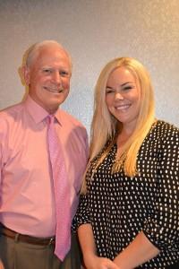 Howard Dixon and Meghan Burns