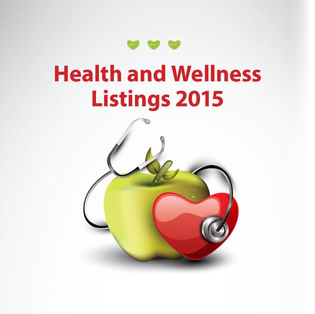 Health and Wellness Listings 2015