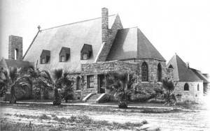 Christ Church Episcopal Church has welcomed a congregation since the late 1800s. Constructed of hand-hewn granite, it looks much the same today, more than a century later.