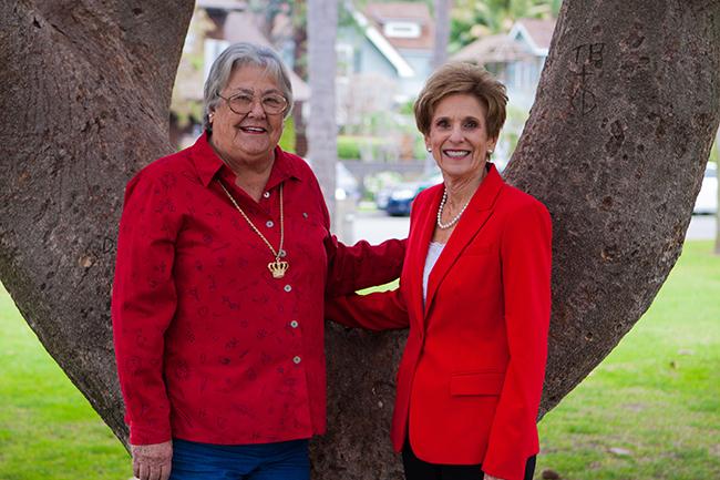 Soroptimists honor two special Coronado women