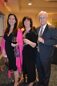 From left, CoSA board members Sheila Baran, Sandy Walker, Frank Nageotte
