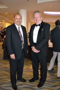 Dr. Tarek Hassanein, left, and Dr. Mark Tamsen