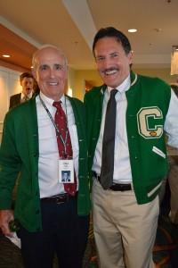 Paul Plumb (CHS–'60) and Jim Rosania (CHS–'70)