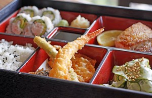 Bento Box, Saiko Sushi. Photo by Denise Jones