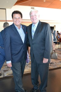 State Senator Marty Block and San Diego County Supervisor Greg Cox.