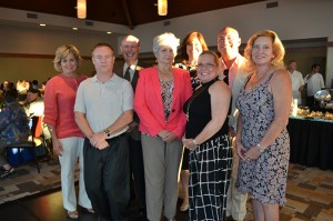 New chamber board members, from left, 