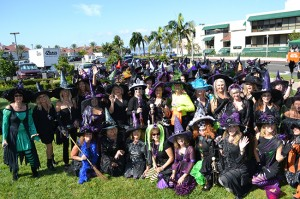 A gaggle of Coronado witches gathers every year for a frightfully fun luncheon.