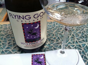 Flying Goat Cellars is one of several wineries with tasting rooms at the Lompoc Wine Ghetto.