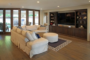 Open concept living area.