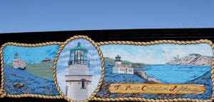 "The ""Point Conception Lighthouse"" mural pays tribute to the nearby coastal landmark. courtesy ExploreLompoc"
