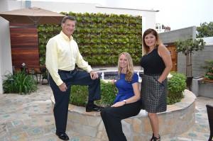 From left, Coronado Hospital Foundation board chairman Tom Smisek, chief development officer Nora Boswell, senior development officer Sandy Gross