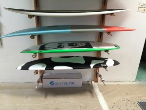 Board shape, size, and fin placement are customized for veterans' specific needs.