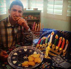 Zach Bunshaft hanukkah