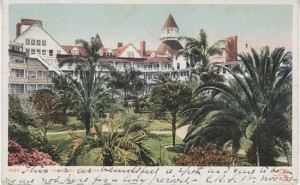 Hotel del Coronado's lush gardens were designed to rival those found in Mediterranean resorts at the turn of the century.