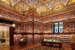 It's hard to imagine a more extravagant library than J.P. Morgan's, which has housed his private collection of rare books since 1906.