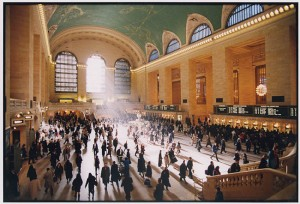 New York's Grand Central Terminal was built in 1871 and is an example of the Beaux Arts style.