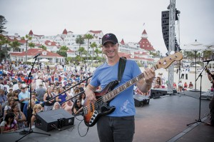 Sunday, June 19; Beach concert with Gary Sinise and the Lt. Dan Band