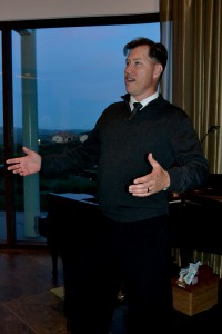 Chad Frique, member of San Diego Opera's chorus