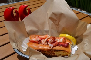 L is for lobster rolls
