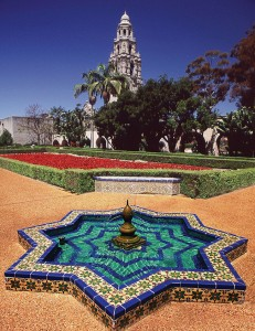 E is for explore Balboa Park
