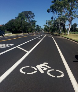 Bike riding is a popular pastime in Coronado.  Do we need more bike lanes to keep cyclists safe?