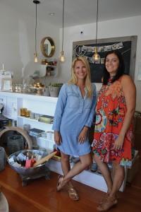 Jessica Nicolls and Karyn Frazier of Bungalow 56.