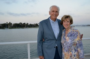 Bob and Patty Payne are major underwriters of the new Payne Family Outpatient Pavilion at Sharp Coronado Hospital.