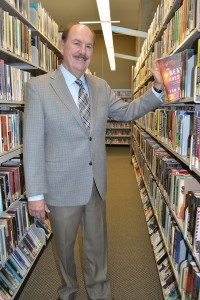 Christian Esquevin has been at the helm of the Coronado Public Library for 28 years.