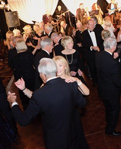 Guests enjoyed dancing in the Hotel del Coronado's Crown Room at the 2016 Black and White gala.