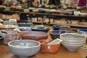 April 27, Empty Bowls raises funds for the homeless