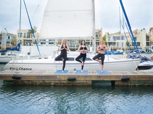 Dock yoga at Loews Coronado Bay Resort is designed to relax with a flow of movements, breathing exercises and light meditation. Sessions are offered at 8 a.m. every Tuesday and Thursday; complimentary for hotel guests, $10 for visitors.