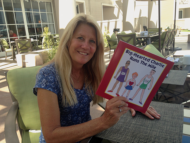 Gold-Star Mom pens children's books in memory of Charles Keating IV